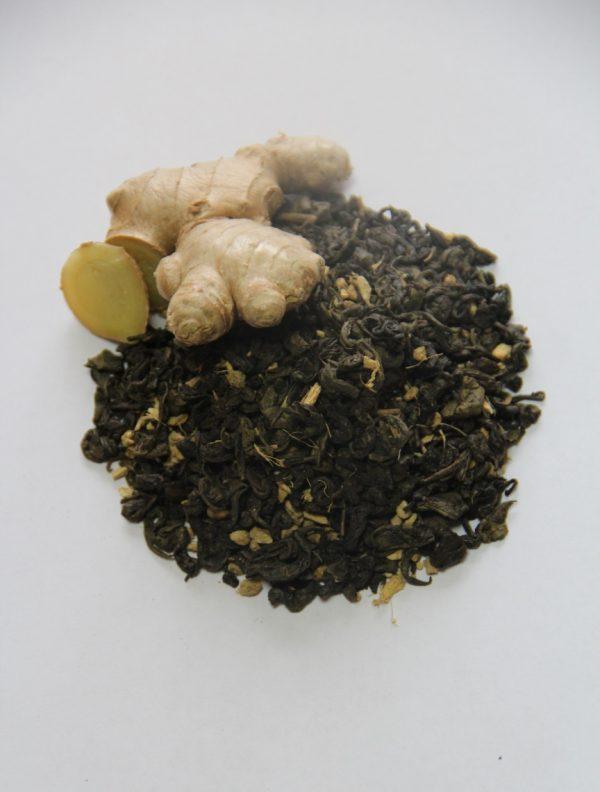 Чай с имбирём и мёдом